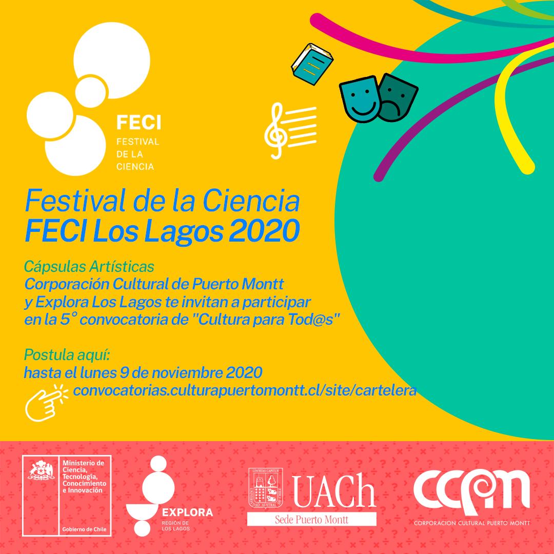 FESTIVAL DE LA CIENCIA FECI LOS LAGOS 2020